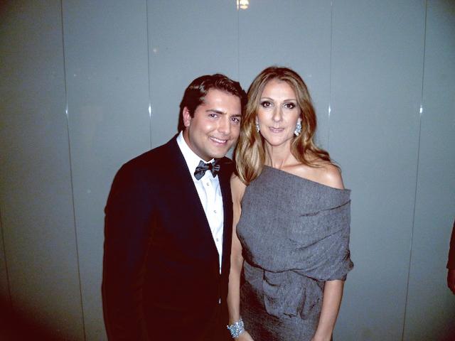 Celine Dion Konzert mit Baptiste Pawlik