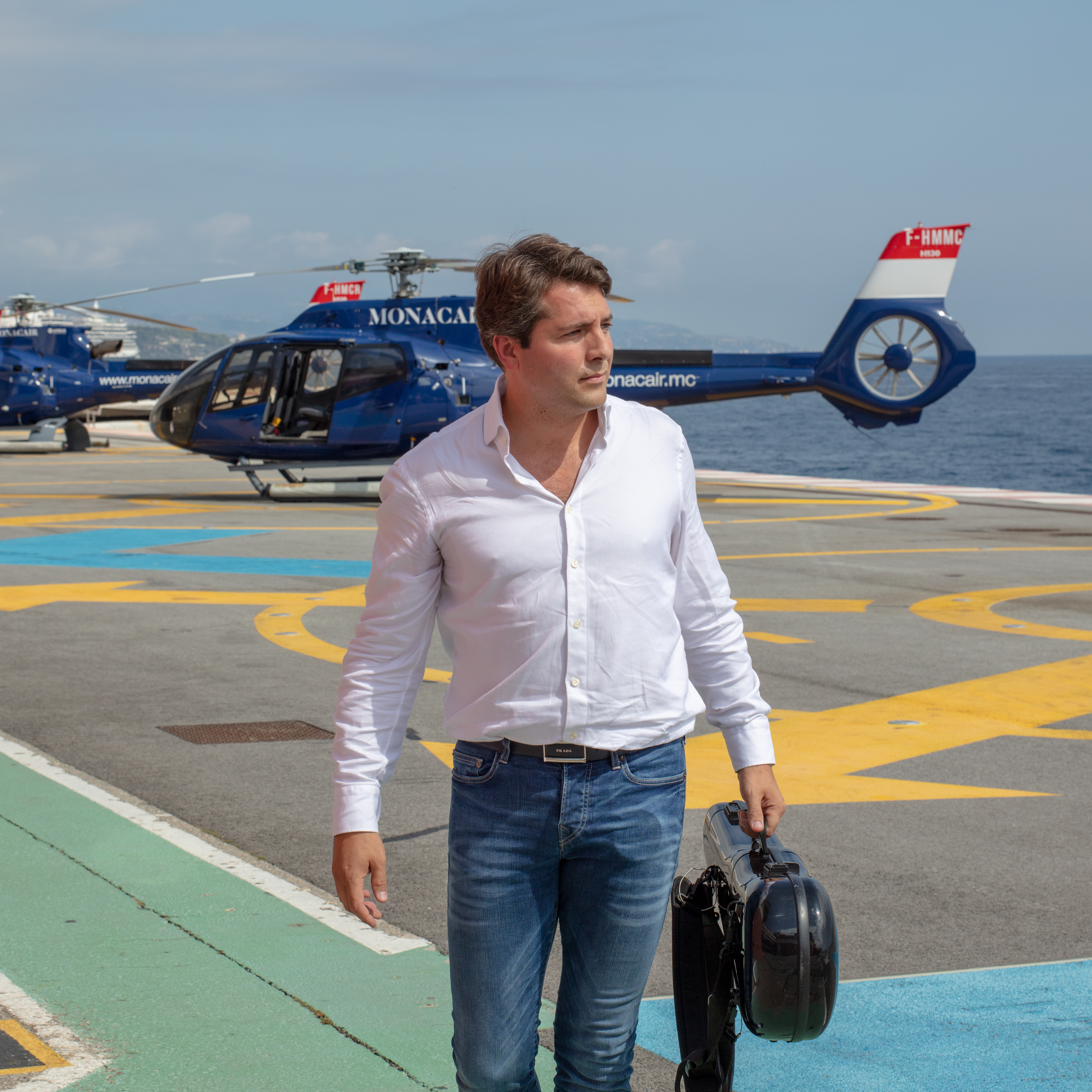 Ankunft in Monaco